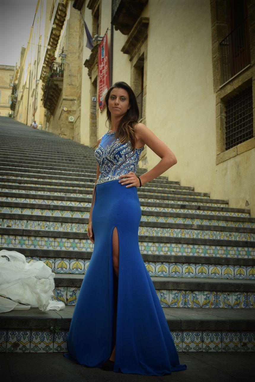982a64b48d3c Fashion Day 2015 Caltagirone  Sfilata Abiti da Cerimonia Lunaraine ...